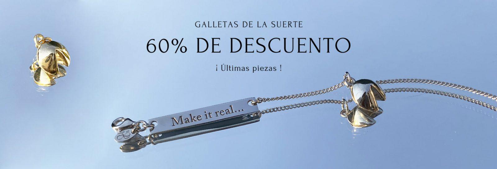 Colección Galletas Make It Real en Armariojoyería